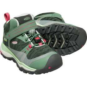 Keen Kids Terradora WP Mid Shoes duck green/quiet